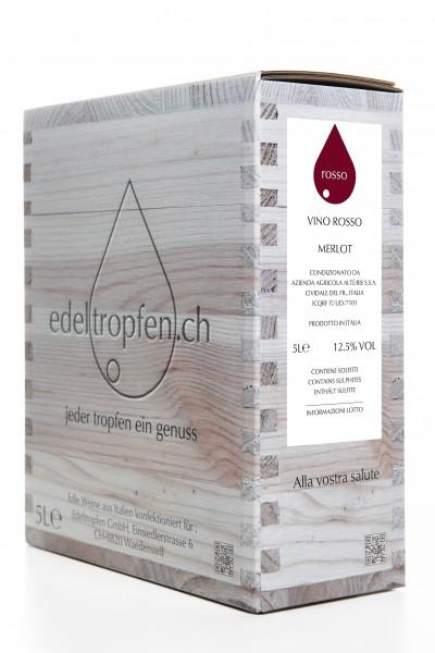 Merlot, 12.5% - 5 Liter